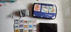"Thumbnail of ""任天堂3DS 黒 ケース ソフト12種付き"""