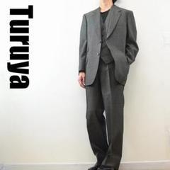 "Thumbnail of ""C6020 Turuya 3ピース スーツ セットアップ グレー M~L相当"""