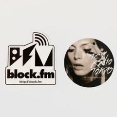 "Thumbnail of ""block.fm TCY Radio Tokyo 非売品ステッカー3枚セット"""