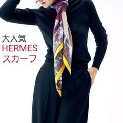"""Thumbnail of """"HERMES カレ90 スカーフ シルク100%"""""""