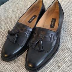 "Thumbnail of ""BALLY  バリー 革靴 25.5センチ位 未使用に近い"""