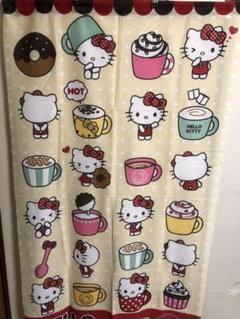 "Thumbnail of ""のれん、キティのれん、子供部屋、ポリエステルのれん、サンリオグッズ、キティ収集家"""