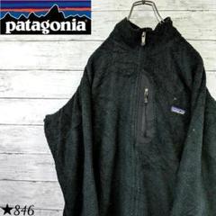 """Thumbnail of """"【90s】パタゴニア フリースジャケット ロゴ入り POLARTEC ブラック"""""""