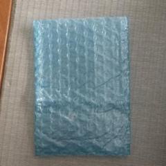 """Thumbnail of """"プチプチ袋☆ブルー  15×10cm 20枚 梱包材"""""""