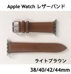 "Thumbnail of ""ライトブラウン☆アップルウォッチバンド レザーベルト 革 Apple Watch"""