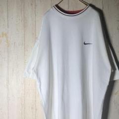 "Thumbnail of ""【オーバーサイズ】ナイキ Tシャツ 刺繍ロゴ ホワイト XXL V372"""