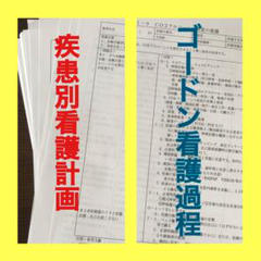 """Thumbnail of """"☆最安値☆疾患別看護計画+ゴードン看護過程セット"""""""