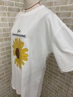 """Thumbnail of """"Tシャツ 白 ホワイト Lサイズ レディース フラワー 花 かわいい 韓国"""""""