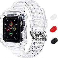 "Thumbnail of ""Apple Watch バンド一体型 ソフト クリスタル TPU 耐衝撃ベルト"""