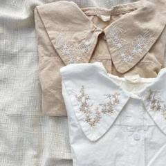"""Thumbnail of """"【新品】フラワー刺繍ブラウス 韓国子供服 韓国ファッション"""""""