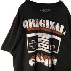 """Thumbnail of """"ニンテンドー ゲーム コントローラー Tシャツ ブラック 黒 L 古着"""""""