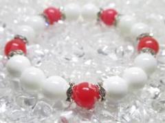 ★【インカローズ×ホワイトオニキス】 天然石パワーストーン