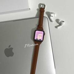 """Thumbnail of """"◎Apple Watch レザースキニーベルト ブラウン 38mm/40mm"""""""