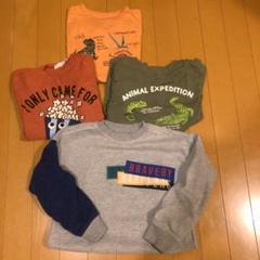 """Thumbnail of """"値下げ男の子 トレーナー、Tシャツ1枚、ロンT2枚 セット"""""""
