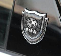 """Thumbnail of """"BMW汎用 車ステッカー車ラベルバッジサイド エンブレム立体おしゃれ シール"""""""