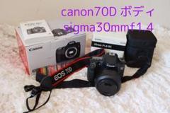 "Thumbnail of ""Canon EOS 70D(W) ボディ sigma30mmf1.4"""