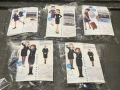 "Thumbnail of ""新品 海洋堂 ANAユニフォームコレクション 5種"""