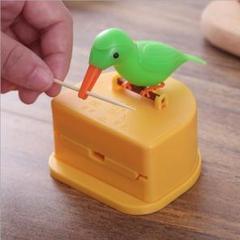 """Thumbnail of """"つまようじ ホルダー かわいい 鳥 自動 爪楊枝 入れ ボックス キッチン 雑貨"""""""