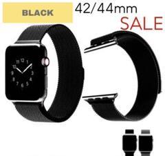 "Thumbnail of ""Apple Watchミラネーゼバンド ブラック 交換用 42/44mm"""