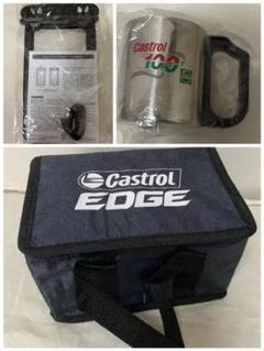 """Thumbnail of """"[新品未使用]Castrol ブランケット マグ 保冷バッグ 防水スマホケース"""""""