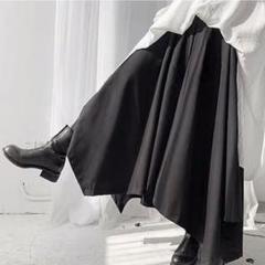 """Thumbnail of """"【ゲリラセール★黒をたおやかに着こなす】袴パンツ 黒 ヨウジヤマモト好きの方 F"""""""