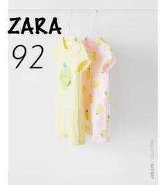 """Thumbnail of """"ZARA ベビー 新品 フルーツ柄ショートオール 92"""""""