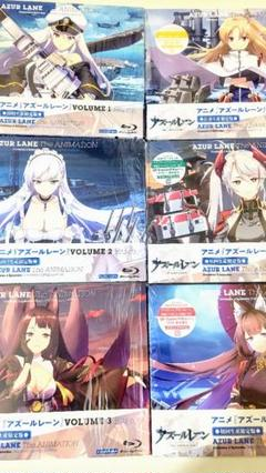 "Thumbnail of ""アズールレーン 初回限定版 Blu-ray 全6巻セット  定価44800円"""
