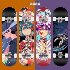 """Thumbnail of """"スケートボード コンプリートセットスケボー 人気スケートグラフィ"""""""