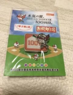 "Thumbnail of ""非売品 高校野球 第100回記念品"""