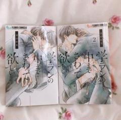 """Thumbnail of """"学ランの中までさわって欲しい BL 漫画 2冊セット"""""""