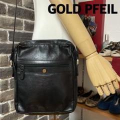 "Thumbnail of ""GOLD PFEIL  ゴールドファイル ショルダーバッグ メンズ 黒"""