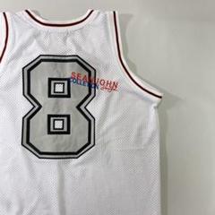 "Thumbnail of ""SEANJOHNショーンジョンバスケシャツゲームシャツ90sヒップホップ古着白"""