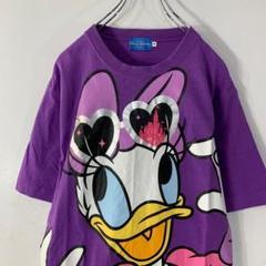 "Thumbnail of ""Disney 半袖Tシャツ サイズM デイジーダック ビッグプリント 古着MIX"""