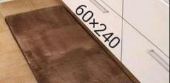 """Thumbnail of """"新品 キッチンマット ブラウン 60×240cm"""""""