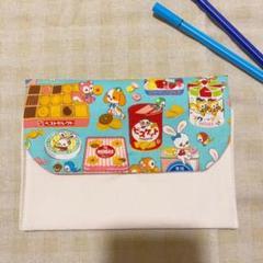"""Thumbnail of """"ハンドメイド 仕切りポーチ 母子手帳ケース 通帳ケース はいから横丁 お菓子缶"""""""