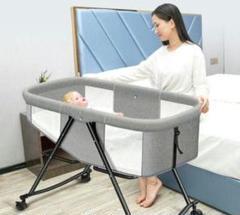 """Thumbnail of """"7点セット可動多機能折りたたみ式新生児ベッドゆりかごベッドbbベッドプーリ"""""""