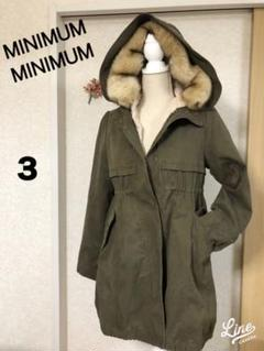 "Thumbnail of ""MINIMUM MINIMUM モッズコート♡カワイイ暖かい!ボア取り外し可能"""