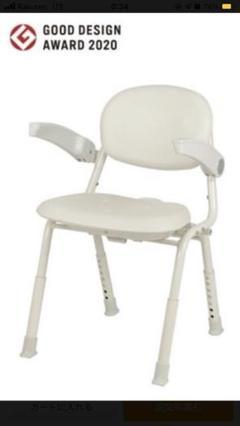 """Thumbnail of """"ユニプラス コンパクトシャワーチェア BSU12 入浴補助 介護椅子"""""""