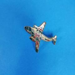 "Thumbnail of ""航空自衛隊 F1 ピンバッチ 新品 アーミーカラーの飛行機"""
