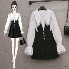 """Thumbnail of """"春の新モデルの小香風のスーツ女性の小柄なファッション洋気減齢の2点セット9"""""""