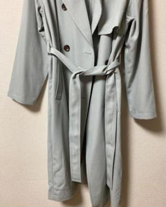 """Thumbnail of """"Sage Green/Mint Green Trench Coat"""""""