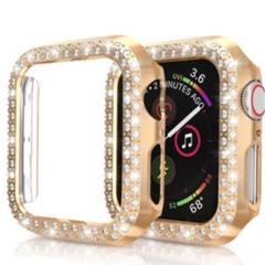 "Thumbnail of ""Apple watch ダイヤモンド カバー ケース ゴールド42㎜"""