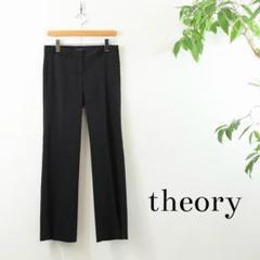 """Thumbnail of """"6ZS0024 theory リネン混 スラックスパンツ ブラック 2"""""""