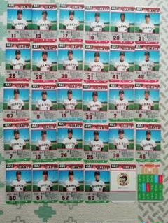 "Thumbnail of ""タカラ プロ野球カードゲーム 巨人 昭和62年"""