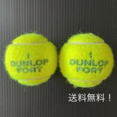 "Thumbnail of ""ダンロップフォート 硬式テニスボール(中古)2個セット"""