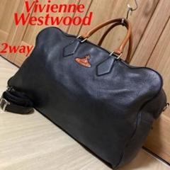"Thumbnail of ""希少 VivienneWestwood 2way レザー ボストン ショルダー"""