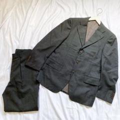 """Thumbnail of """"【美品】ビームスエフ スーツ セットアップ ウール ストライプ L〜XL相当 黒"""""""