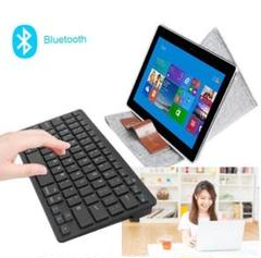 """Thumbnail of """"ワイヤレスキーボード Bluetoothキーボード 黒 薄型 PC スマホ"""""""