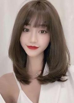 "Thumbnail of ""韓国風かつら ロングカール ショートヘア  自然 サラサラ100%人毛8"""