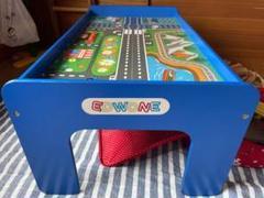 "Thumbnail of ""列車テーブル。レール列車いっぱいセット格安 引き取り限定。"""